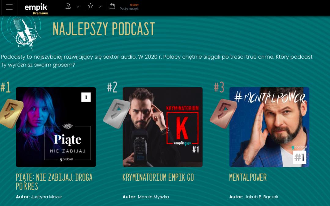 3 najlepsze podcasty w EMPIK!